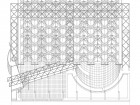 Cardew's office has a long tradition of careful detailing tested through the process of drawing, as this crisp illustration for the CN Pavilion's space frame illustrates.
