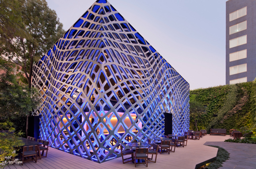 tori tori restaurant by rojkind arquitectos. photo by paul rivera
