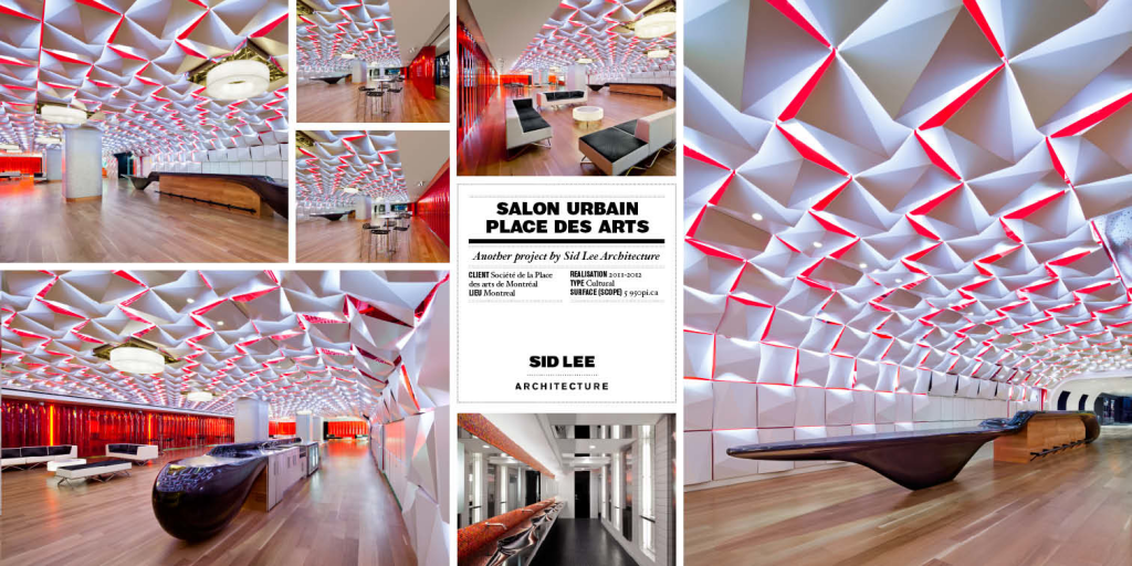 salon urbain by sid lee architecture and difica
