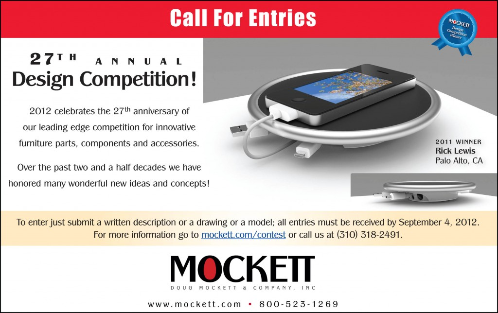 mockett annual international design competition