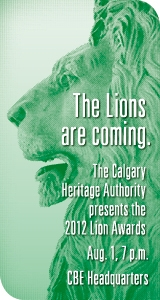 calgary heritage authority 2012 lion awards