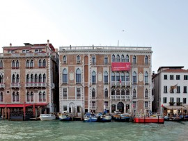 Ca' Giustinian-the venerable headquarters of the highly anticipated Venice Biennale. Giulio Squillaciotti