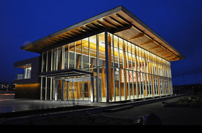 checkwitch poiron architects' nanaimo cruise ship terminal