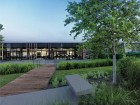 Extensive efforts have been made to bring a quiet and pastoral campus atmosphere through various landscape architecture initiatives.