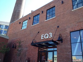 EQ3 flagship store in toronto's liberty village