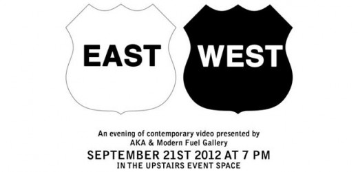 EAST/WEST at the AKA gallery in saskatoon.