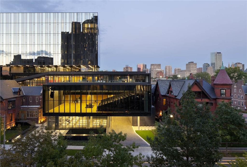 rotman school expansion/addition. photo by tom arban.