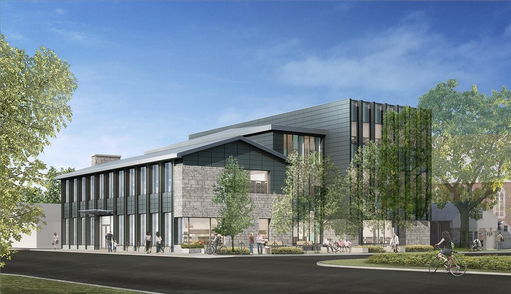 rendering of brentwood library