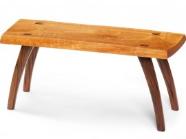 wood bench by brett lundy