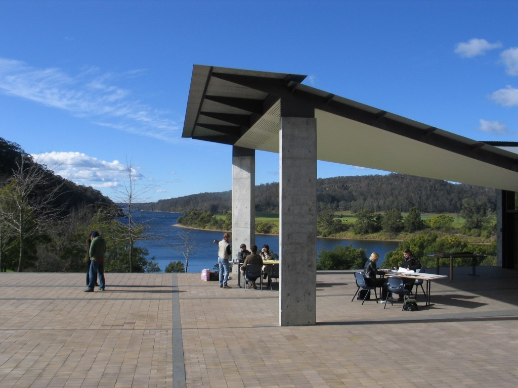glenn murcutt international architecture master class at the boyd education centre in riversdale