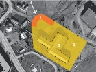 Site Diagram 1 children's first centre  2 Sir Alexander Mackenzie school--to be demolished 3 future community park 4 prevailing northwest wind