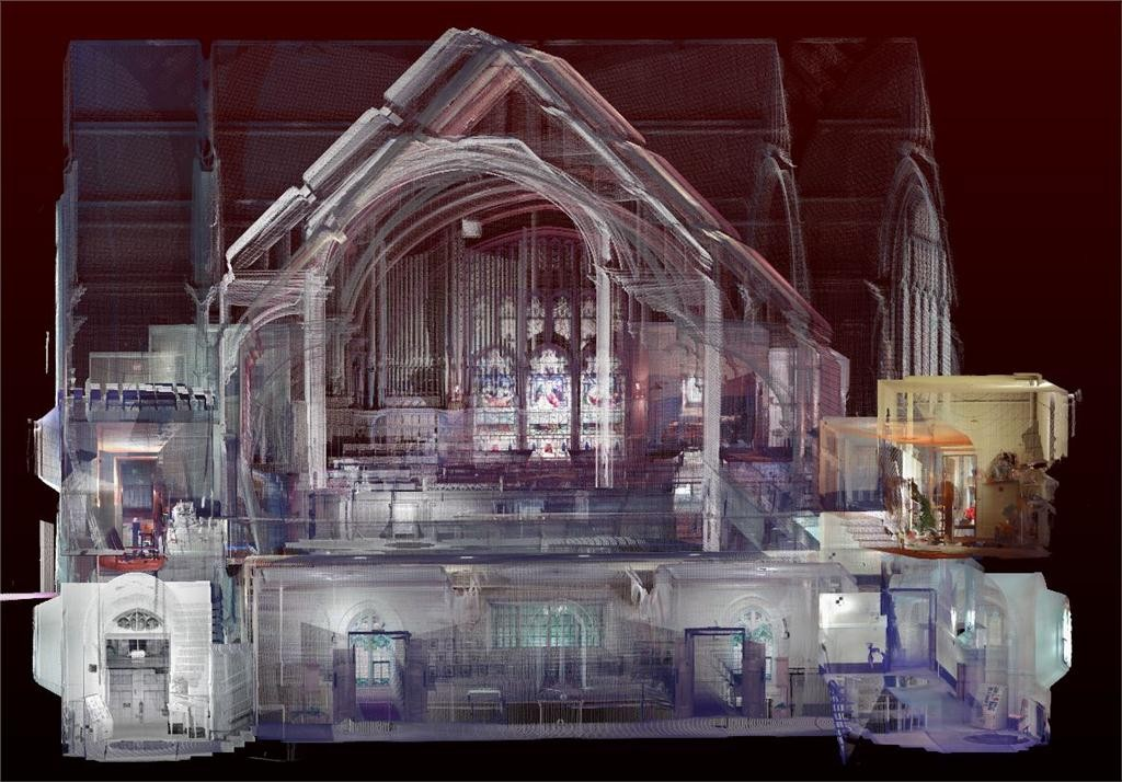 third avenue united church interior rendering