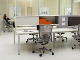 interpret desking system by teknion