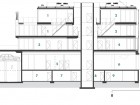 Section NS2: 1 penthouse #1 2 penthouse #2 3 Unit #201 4 Unit #202 5 retail 6 retail entry 7 storage 8 electrical 9 mechanical