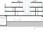 Section NS3: 1 penthouse #1 2 penthouse #2 3 Unit #201 4 Unit #202 5 retail 6 retail entry 7 storage 8 electrical 9 mechanical