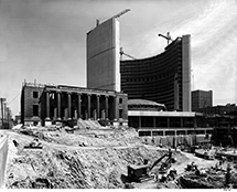 Toronto City Hall, 1961, Panda Associates, Canadian Architectural Archives