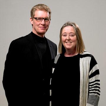 John and Patricia Patkau. Raymond Lum Photography.