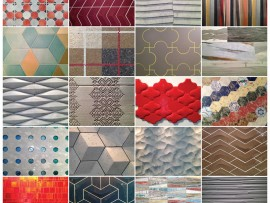 A kaleidoscopic assortment of textures, colours, patterns and finishes is evident in the ever expanding offerings of tile at CERSAIE, captured in these photographs taken by the author. Jyhling Lee