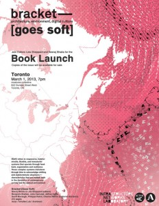 bracket [goes soft] book launch in toronto