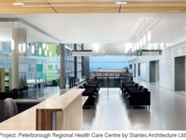 peterborough regional health care centre by stantec architecture ltd. photo by richard johnson photography.