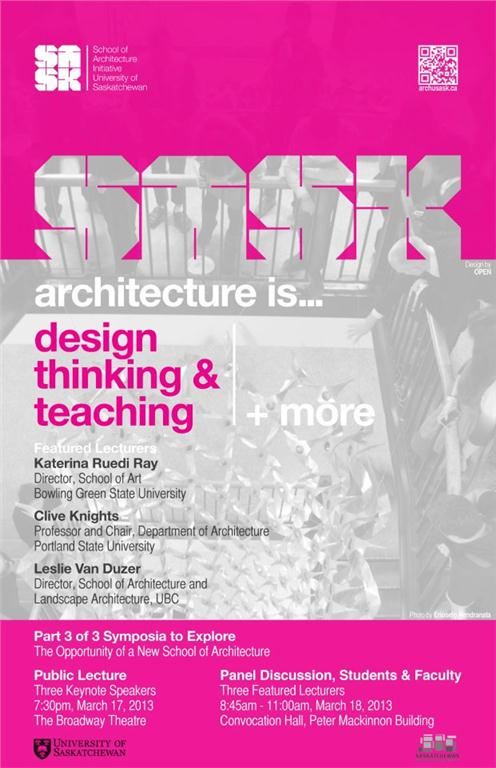 design thinking and teaching at the university of saskatchewan