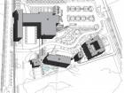 Site Plan: A Main Building B Le Clos C Le Moulin D La Bergerie E Le Spa du Verger F La Basse-cour