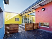 An exterior play area created from a dead-end space at the Princess Elizabeth Public School. Scott Norsworthy