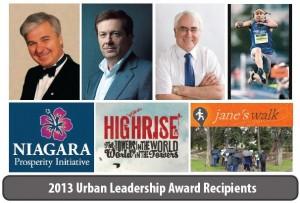 urban leadership award recipients