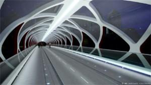 peace bridge in calgary, winner of the 2013 engineering award and the 2013 steel edge award. image credit santiago calatrava.
