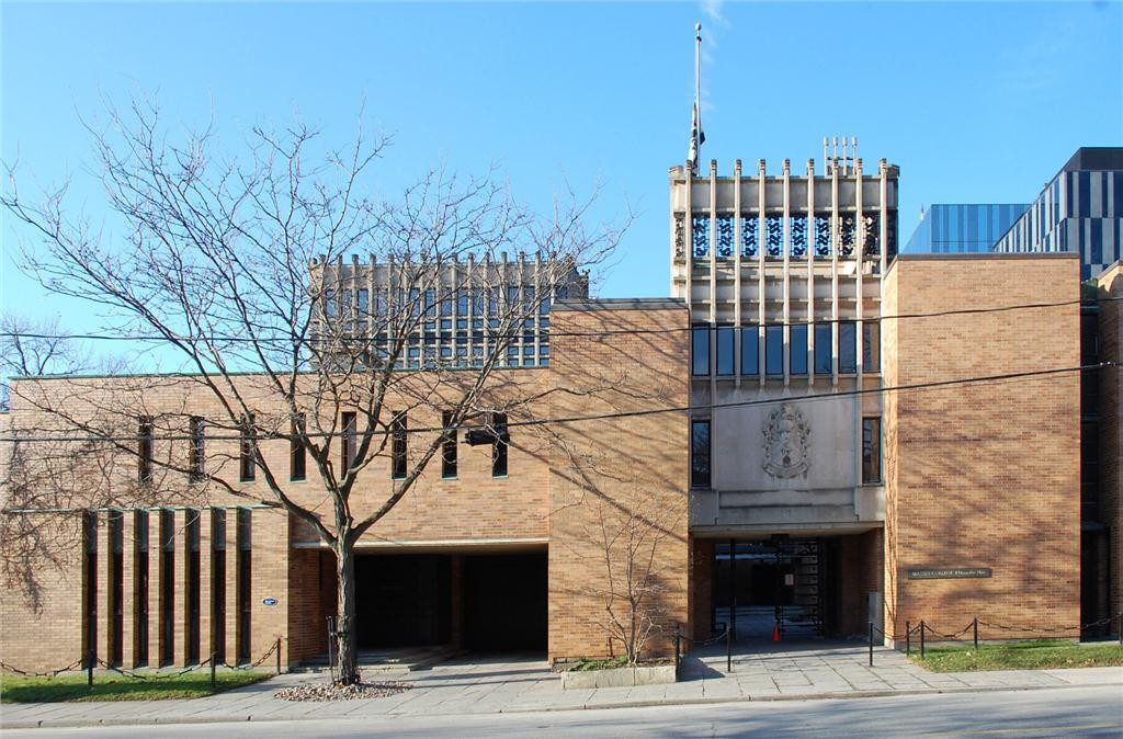 massey college at the university of toronto by ron thom. photo courtesy of ERA architects.