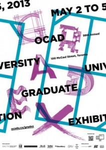 OCAD U 98th annual graduate exhibition