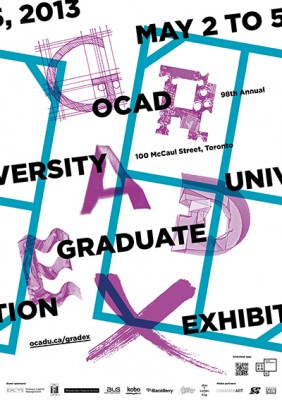 OCAD U 98th annual graduate exhibition