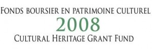 2008 cultural heritage grant fund