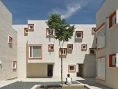 The multi-family residential Centre Village was completed with Cohlmeyer Architecture Limited. James Brittain