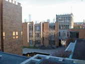 View of the Massey College courtyard. ERA architcts