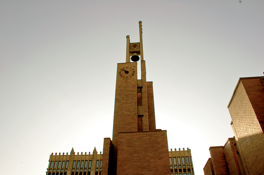 The iconic clock tower. ERA architects