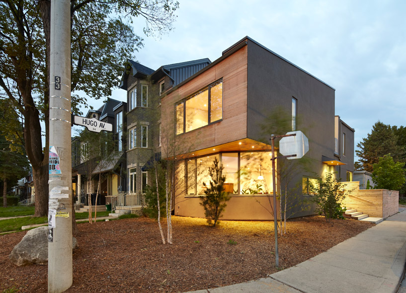 hugo avenue residence by weiss architecture & urbanism limited