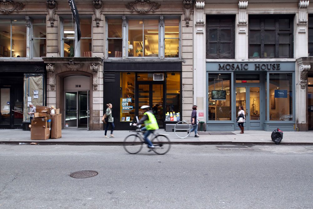 the van alen institute on west 22nd street in new york