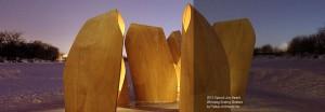 2012 AIBC special jury award: winnipeg skating shelters by patkau architects inc.