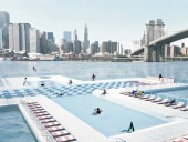 The filtration technology for +Pool in New York City's Hudson River was developed through crowdfunding. A traditional fundraising campaign is currently underway to construct the floating public pool.