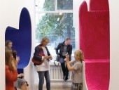 Lai's sculptures are part of his super furniture series. Daniel Hewitt