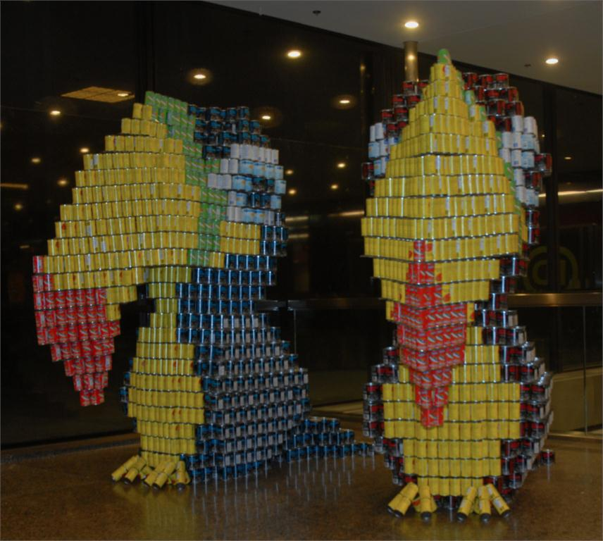 """the jurors' favourite went to """"TWO CANS are better than one"""" by turner fleischer architects inc."""
