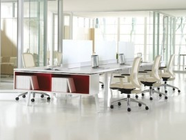 teknion interpret desking system