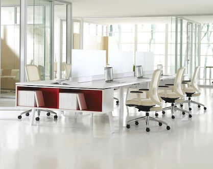 teknion interpret desking system