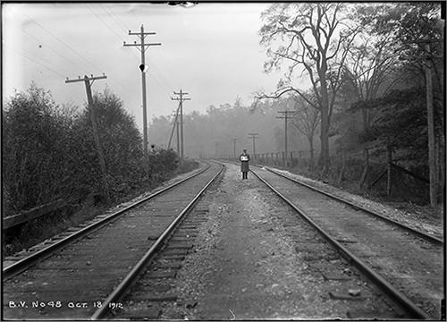 photograph credit: arthur s. goss, bloor street viaduct photographs, general view - railway tracks, october 18, 1912. city of toronto archives, series 372, sub-series 10, item 48.