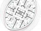 Typical Floor Plan (41st floor) 1 bedroom 2 living 3 dining 4 master bedroom 5 living/dining