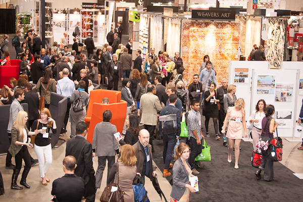 crowds gather at IIDEX canada