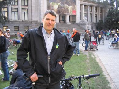 gregor robertson, mayor of vancouver