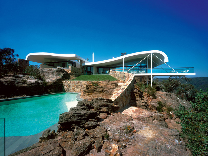 berman house, joadja, new south wales, 1996-99; photo by eric sierins
