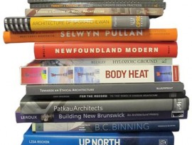 A selection of architecture books published with the assistance of Canada Council for the Arts grants. Canada Council for the Arts